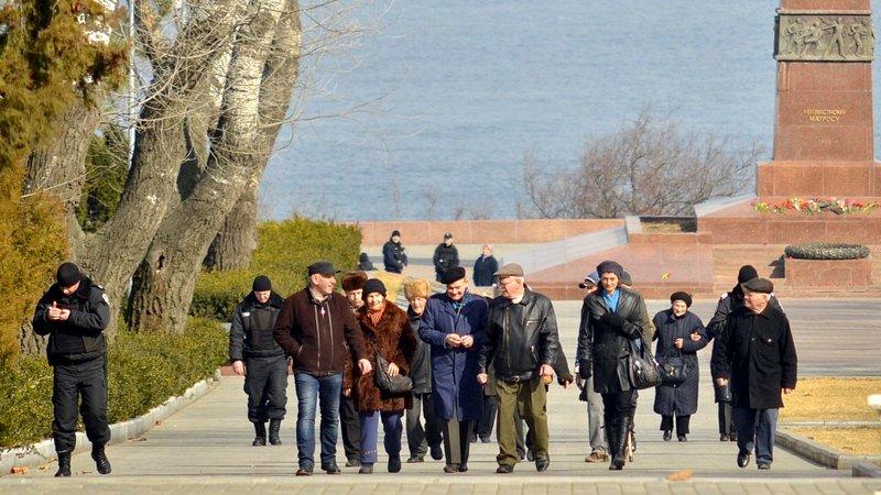 Как в Одессе любители Советского Союза отпраздновали 23 февраля: подробности (ФОТО), фото-28
