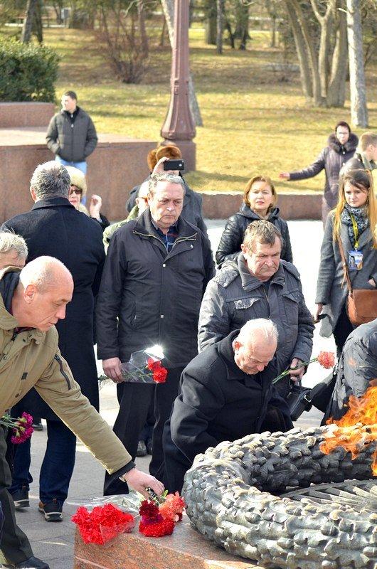 Как в Одессе любители Советского Союза отпраздновали 23 февраля: подробности (ФОТО), фото-35