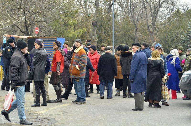 Как в Одессе любители Советского Союза отпраздновали 23 февраля: подробности (ФОТО), фото-14