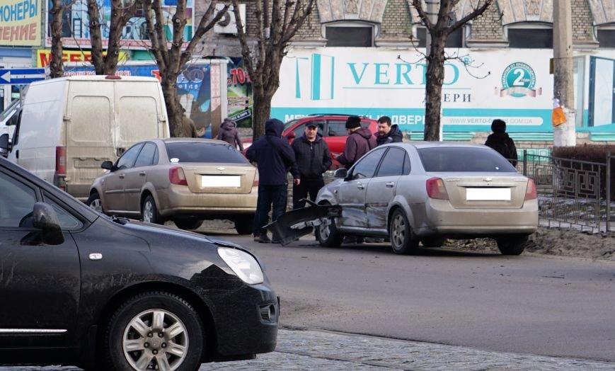 В центре Каменского произошло ДТП, фото-1