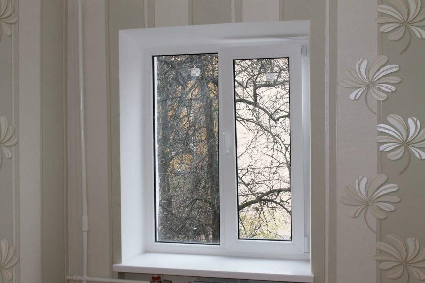 штукатурные откосы на окна-балкон