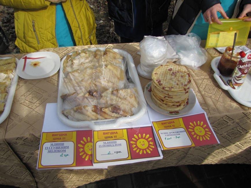 Как студенты горожан блинами накормили, фото-4