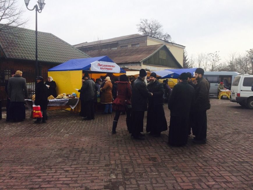 На Соборной площади Каменского прошла ярмарка, посвященная Масленице, фото-7