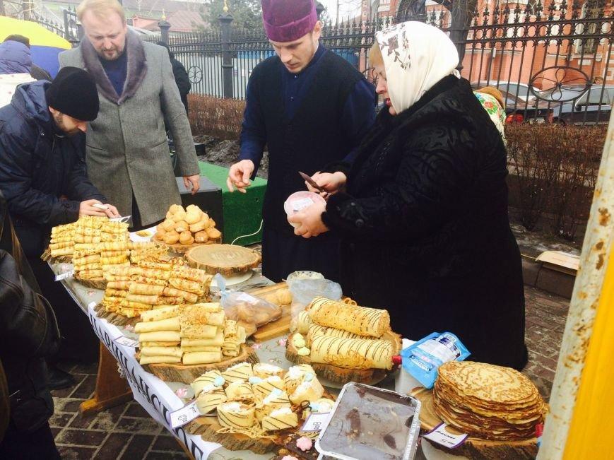 На Соборной площади Каменского прошла ярмарка, посвященная Масленице, фото-1