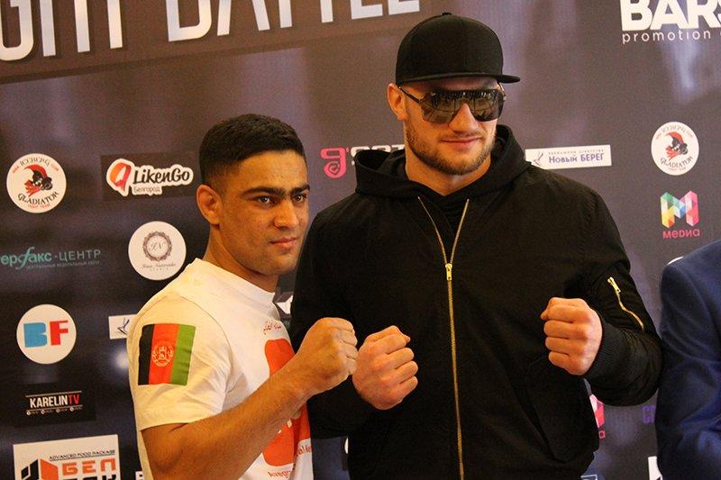 В Белгороде взвесили бойцов турнира Bars Night Battle, фото-9