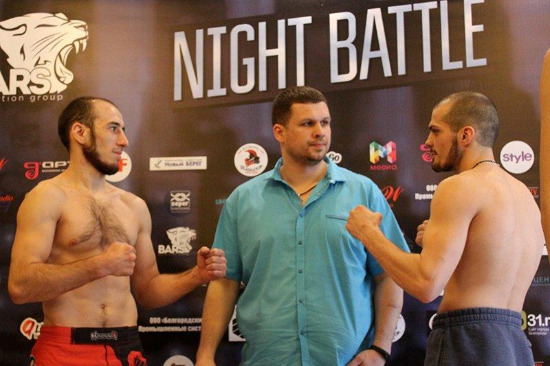В Белгороде взвесили бойцов турнира Bars Night Battle, фото-4