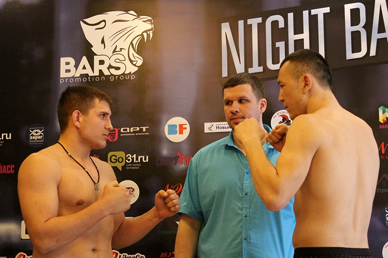 В Белгороде взвесили бойцов турнира Bars Night Battle, фото-8