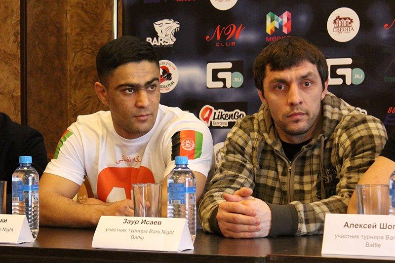 В Белгороде взвесили бойцов турнира Bars Night Battle, фото-2