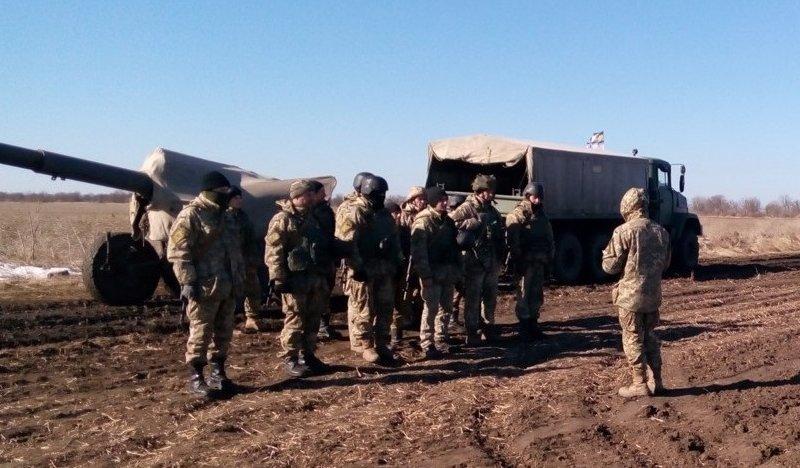 На Херсонщине артиллеристы провели стрельбы (фото), фото-2