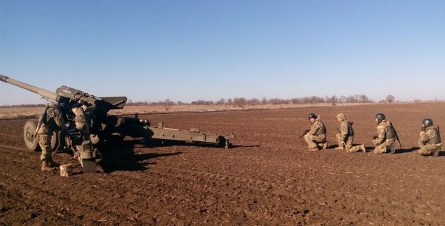 На Херсонщине артиллеристы провели стрельбы (фото), фото-3