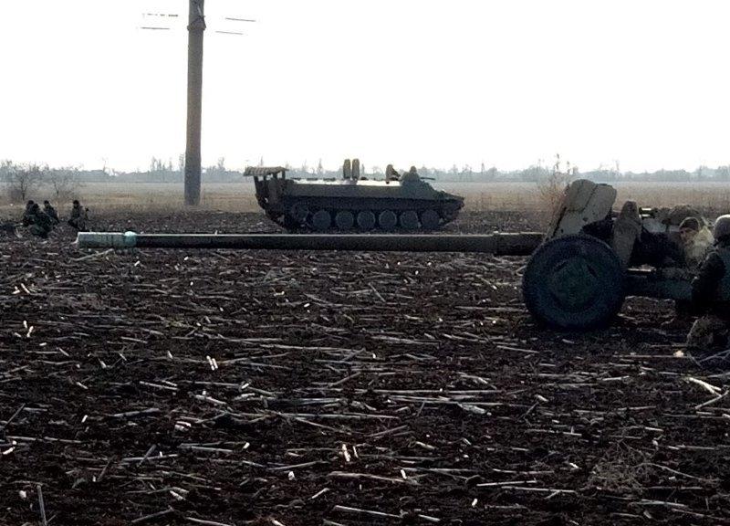 На Херсонщине артиллеристы провели стрельбы (фото), фото-1