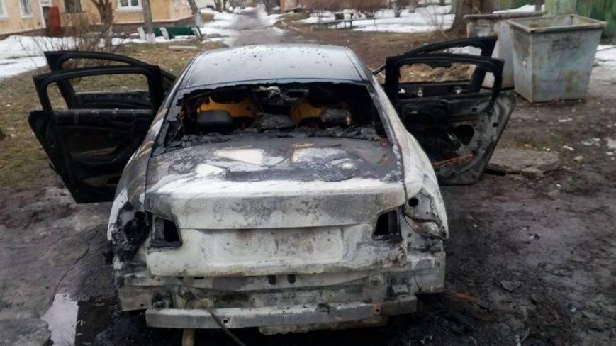 В Каменском снова сожгли машину редактору газеты, фото-3