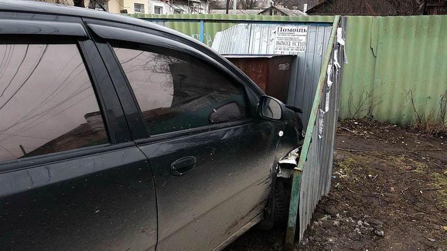 """В Мариуполе автомобиль """"Шевроле"""" столкнулся с полицейской """"Тойотой""""(ФОТО), фото-1"""