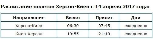 МАУ открыла продажу билетов на рейс Херсон-Киев - Opera