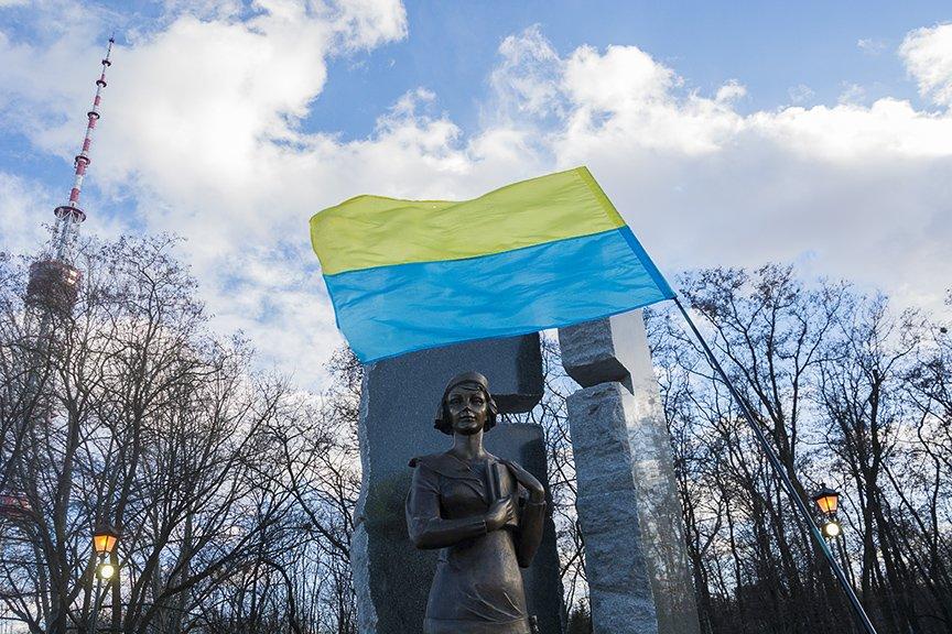 В Киеве открыли памятник Телиге (ФОТО), фото-1