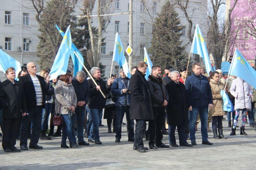 У Херсоні відбулась акція в підтримку опору Криму російській окупації (фото), фото-2
