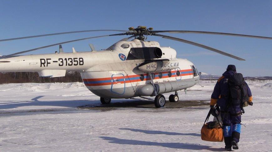 На Камчатке ищут пропавшего снегоходчика, фото-1