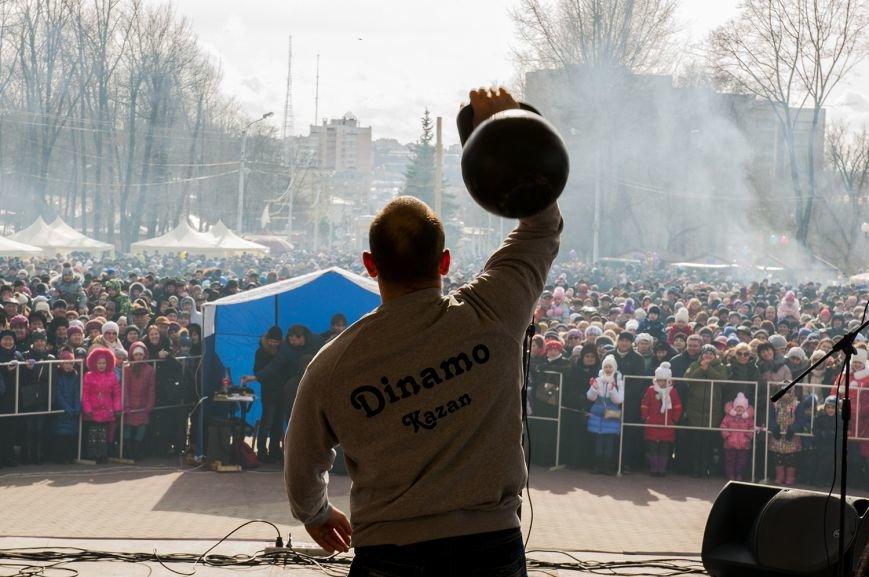 Белгородцы попрощались с зимой и сожгли Масленицу. Фоторепортаж, фото-5