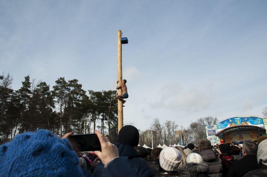 Белгородцы попрощались с зимой и сожгли Масленицу. Фоторепортаж, фото-10