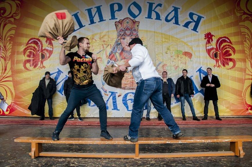 Белгородцы попрощались с зимой и сожгли Масленицу. Фоторепортаж, фото-7