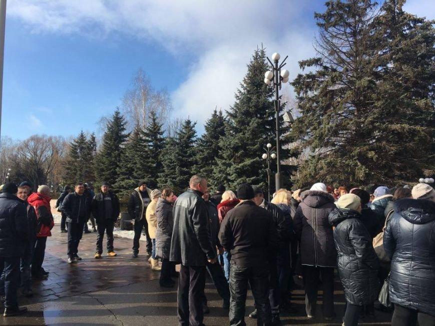 Митинг протеста в Кривом Роге: Почему запрет на реализацию свинины касается только рынков? (ФОТО), фото-6