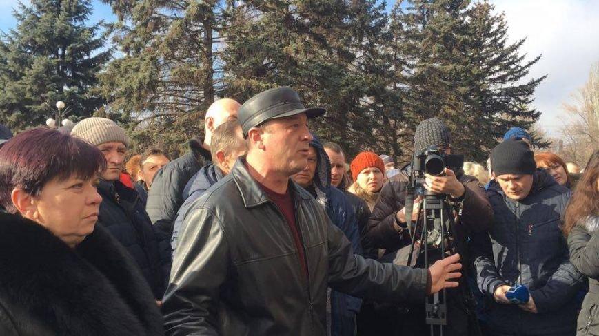 Митинг протеста в Кривом Роге: Почему запрет на реализацию свинины касается только рынков? (ФОТО), фото-9