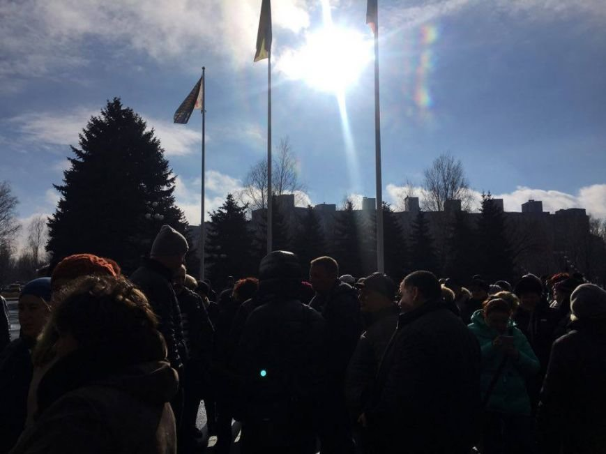 Митинг протеста в Кривом Роге: Почему запрет на реализацию свинины касается только рынков? (ФОТО), фото-10