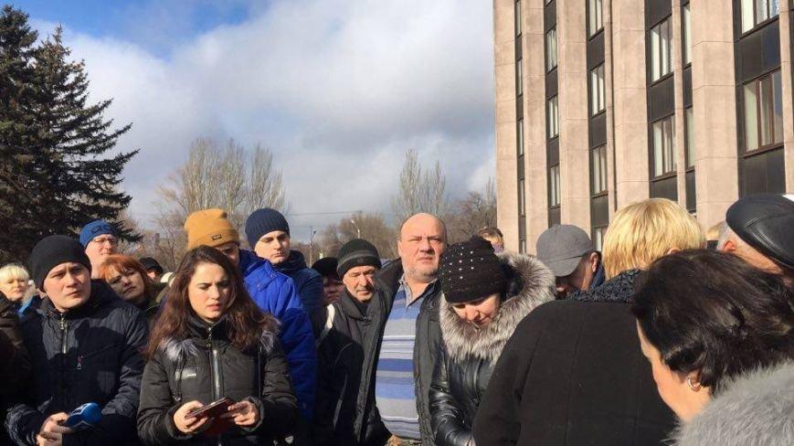 Митинг протеста в Кривом Роге: Почему запрет на реализацию свинины касается только рынков? (ФОТО), фото-7