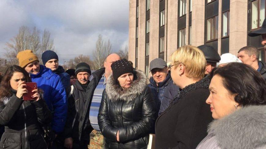 Митинг протеста в Кривом Роге: Почему запрет на реализацию свинины касается только рынков? (ФОТО), фото-8