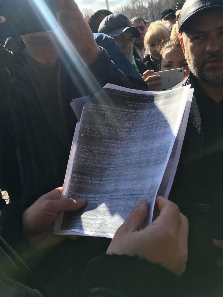 Митингующим предпринимателям сообщили дату начала торговли салом на криворожских рынках (ФОТО), фото-1