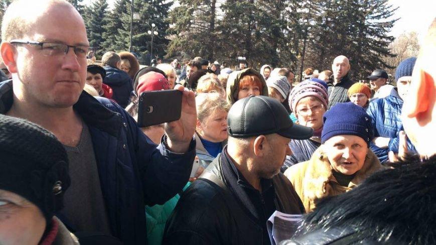 Митингующим предпринимателям сообщили дату начала торговли салом на криворожских рынках (ФОТО), фото-5