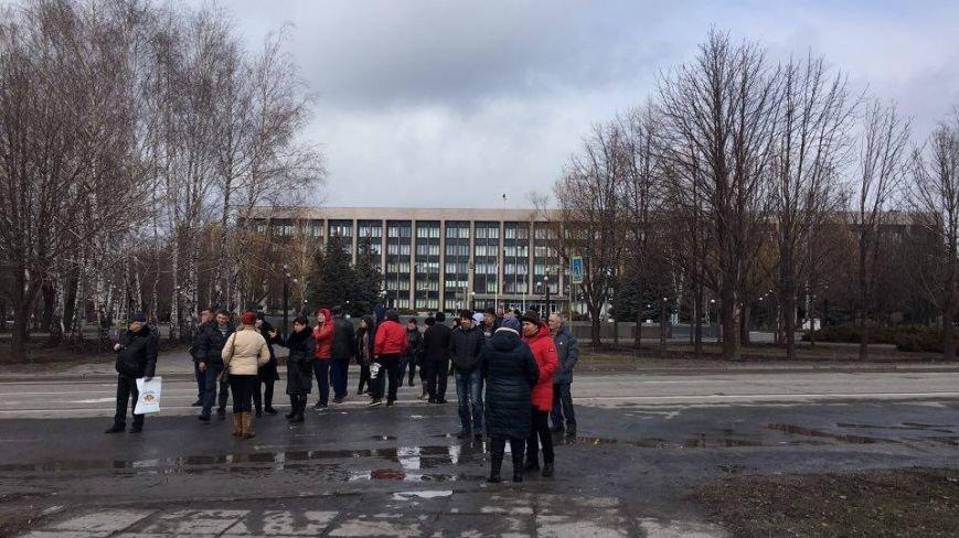 В Кривом Роге митингующие перекрыли центральные улицы (ФОТО), фото-4
