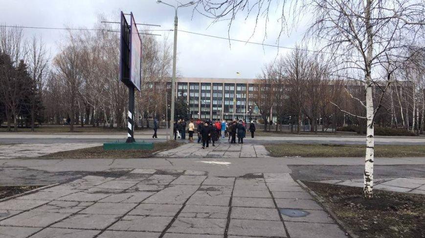 В Кривом Роге митингующие перекрыли центральные улицы (ФОТО), фото-1