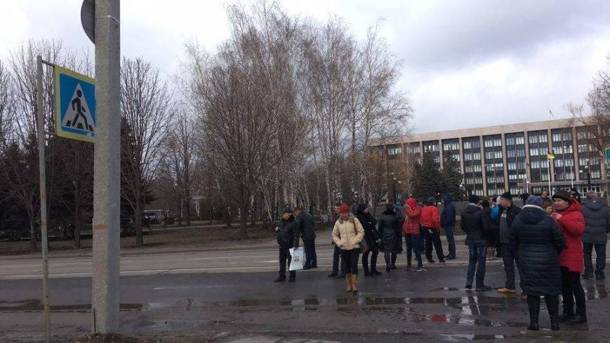 В Кривом Роге митингующие перекрыли центральные улицы (ФОТО), фото-5