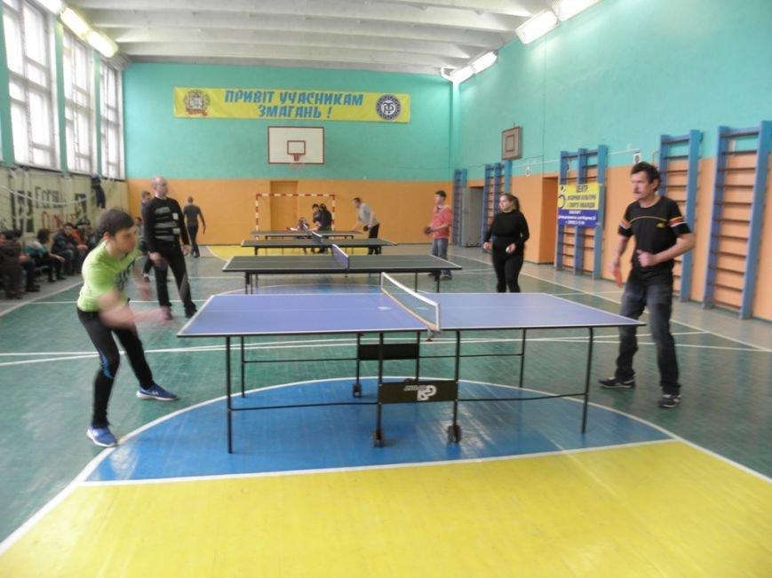 В Каменском прошли соревнования по настольному теннису, фото-2