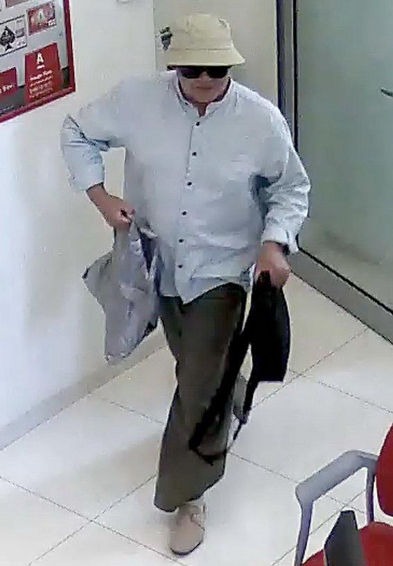 Полиция просит опознать серийного грабителя банка (ФОТО, ВИДЕО), фото-1