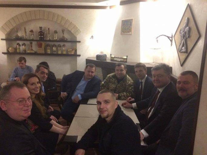 Президент в Днепре пообедал в знаменитой Pizza Veterano (ФОТО), фото-1