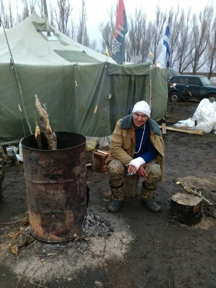 """Криворожане на редуте """"Соловейко"""": Мужчина должен быть там, где полезен своей стране и семье (ФОТО), фото-3"""