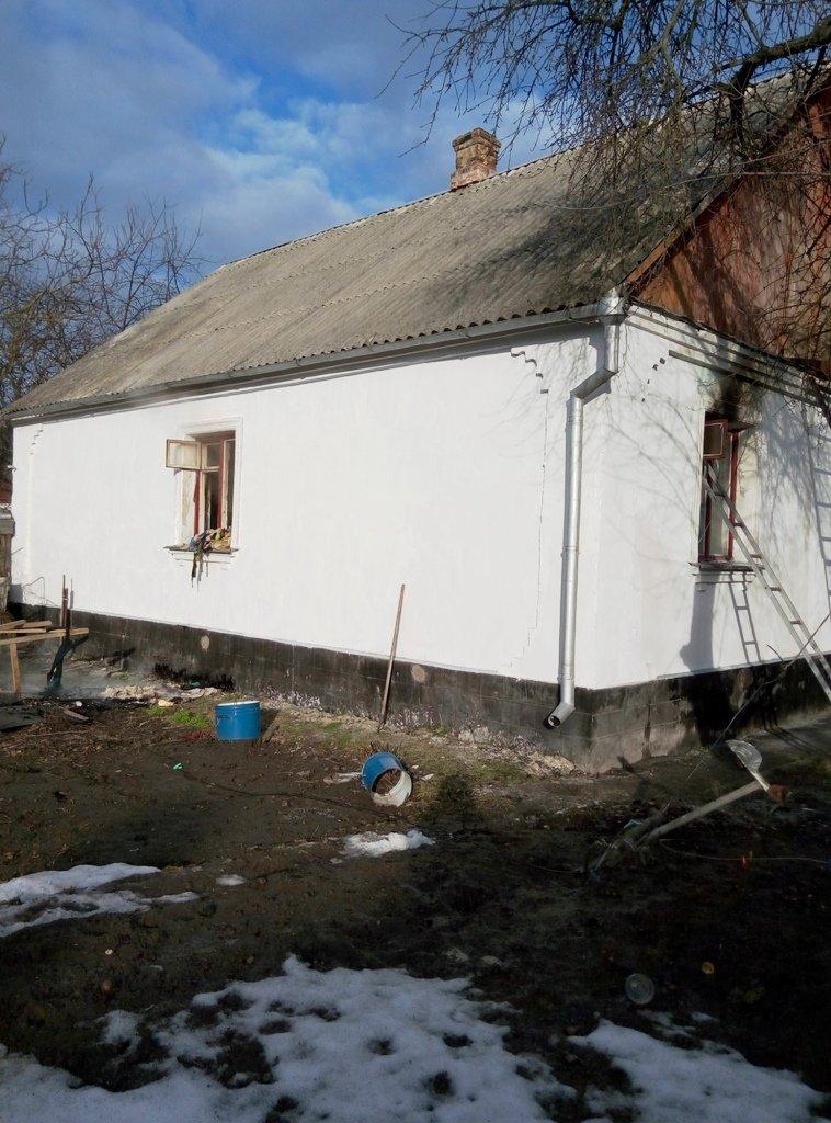 У Новограді-Волинському горів будинок, фото-1