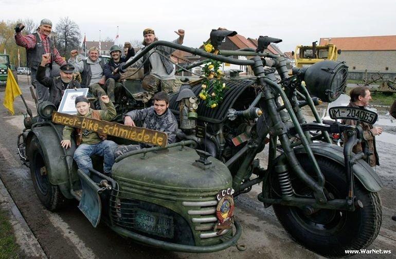 Самый большой мотоцикл в мире, фото-5