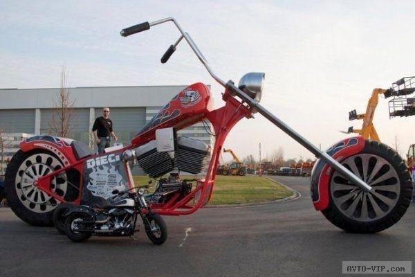 Самый большой мотоцикл в мире, фото-4