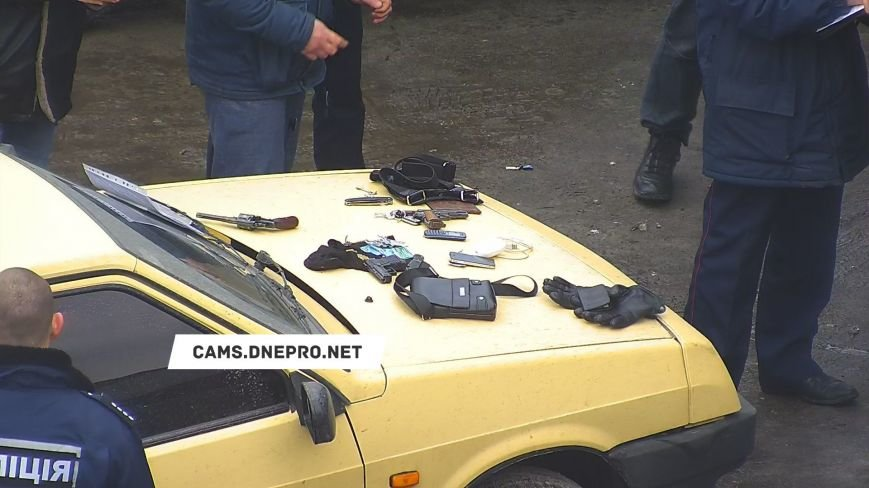 В полиции прокомментировали изъятие оружия в центре Каменского, фото-1
