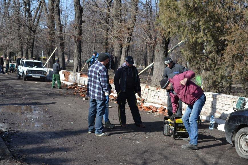 В Каменском парке уже роют и копают, фото-9