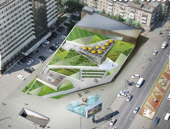 «Висячие сады» предлагают построить вместо многоэтажки на пл.Ленина в Ростове, фото-2
