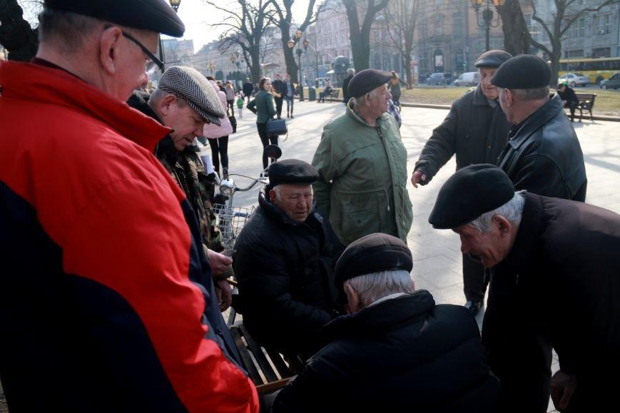 Як виглядав Львів в останній день зими: фоторепортаж, фото-3