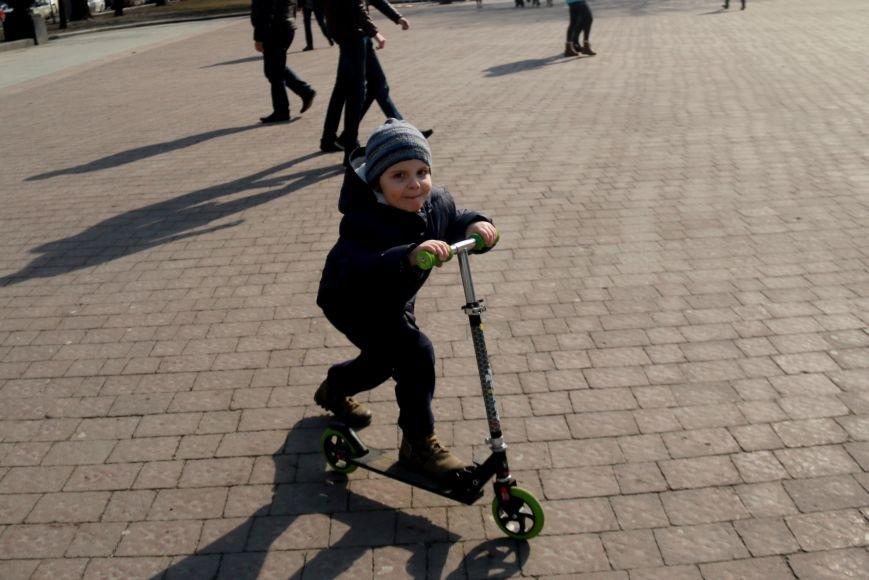 Як виглядав Львів в останній день зими: фоторепортаж, фото-1