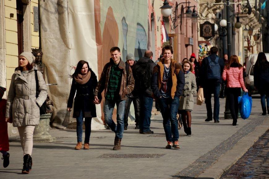 Як виглядав Львів в останній день зими: фоторепортаж, фото-7
