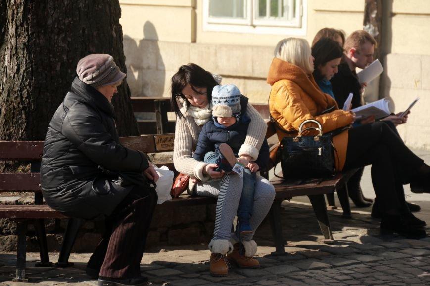 Як виглядав Львів в останній день зими: фоторепортаж, фото-10