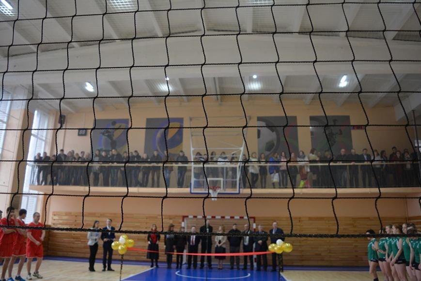 Как в Новополоцке открывали новый университетский спортзал. ФОТОРЕПОРТАЖ, фото-9
