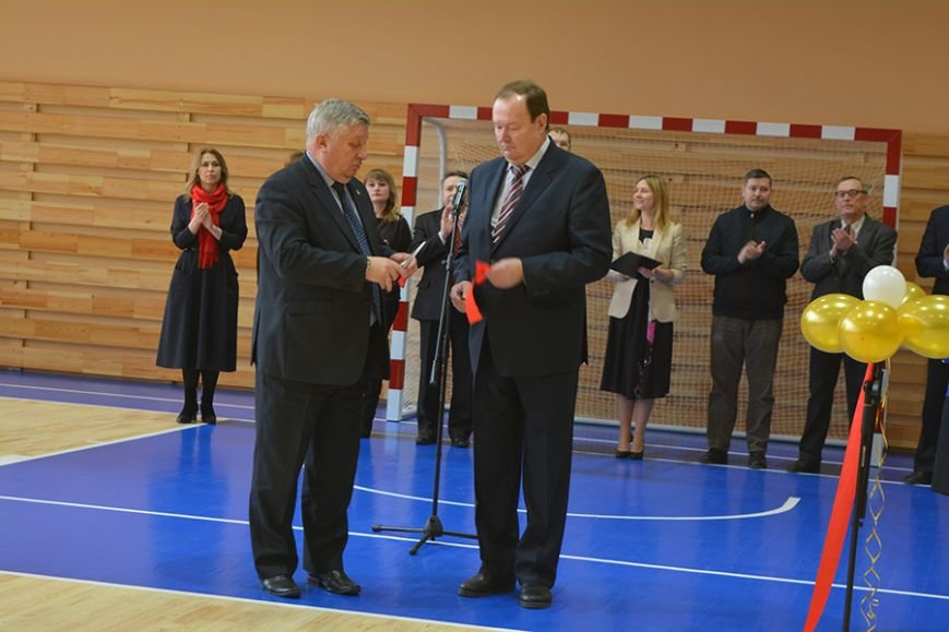 Как в Новополоцке открывали новый университетский спортзал. ФОТОРЕПОРТАЖ, фото-11